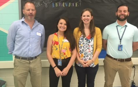Science Department Welcomes Four New Additions