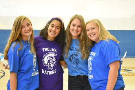 Midlo Service Learning Joins Trojan Nations Team