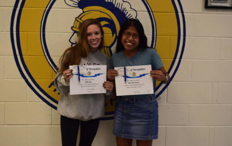 Congratulations Sophie King and Alex Murias-Roman, Midlo's October Students of the Month.