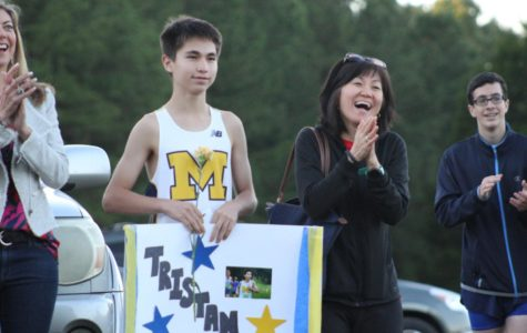 Cross Country Honors Dedicated Seniors