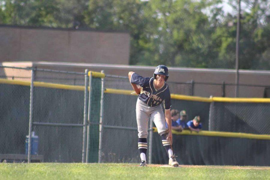 Junior Christian Chambers verbally commits to play baseball at JMU.