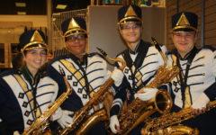 Trojan Band Bursts Shows True Colors