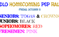 Prepare for Midlo's 2018 Homecoming Pep Rally