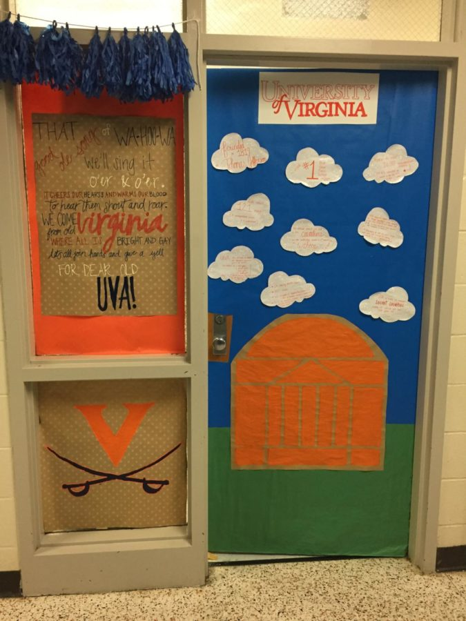 Ms.+Boese+won+Grand+Prize+in+the+door+decorating+contest%2C+hosted+by+Midlo%27s+Counseling+Department.+
