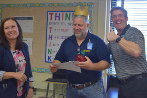 Mr. Fletcher Earns March TRT Award