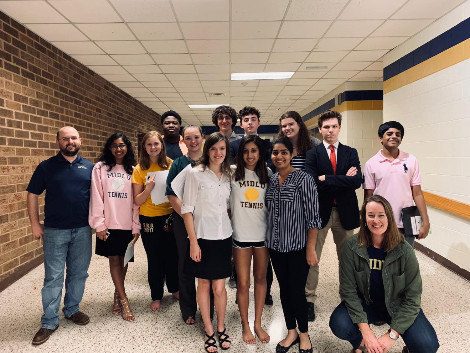 The Forensics & Debate secure multiple wins in their first invitational of the season at Midlothian High School.