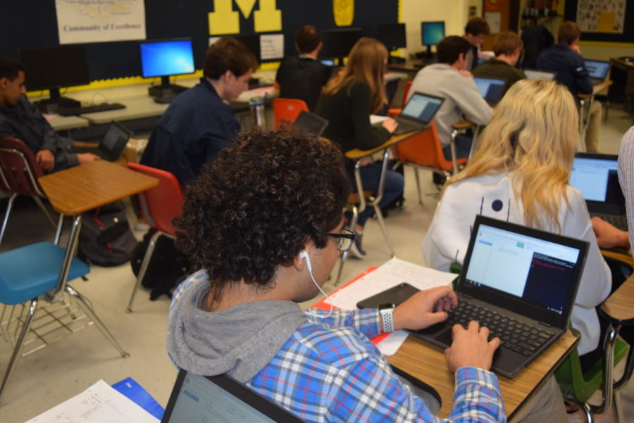 In a wave of Computer Science Education, Mr. Java's students practice the Hour of Code.