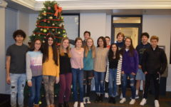 Interact Club Decorates the Doorways