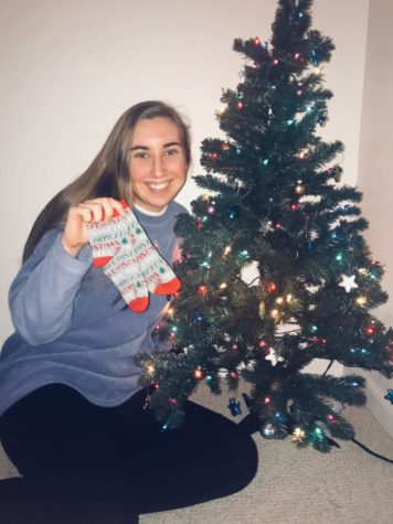 Czenczek Rocks Her Socks for Holiday Spirit