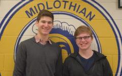 Seniors Novey and Ruzicka Named January Student All-Stars