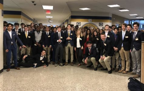 The Midlo contingency of DECA attended the DECA  DLC competition at Chesterfield Towne Center.