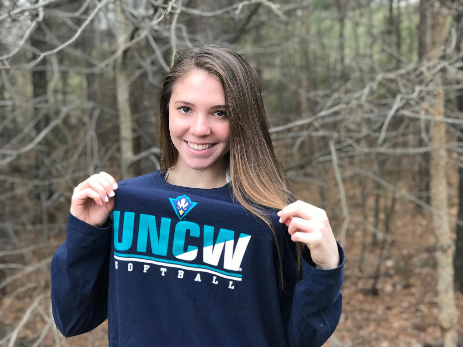 Junior Emily Morrison commits to UNCW for softball.