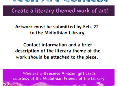 Showcase Your Art at the Midlothian Public Library