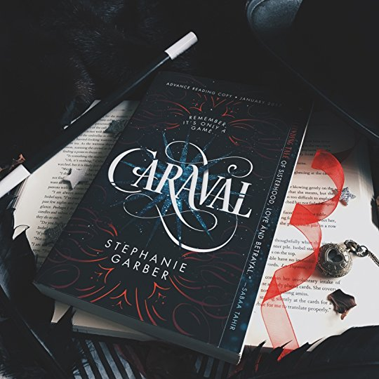 Stephanie Garber's Caraval astounds readers with deep descriptions and unique plot.