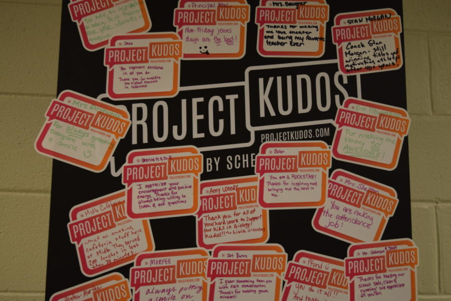 Project KUDOS aims to send a wave of kindness.