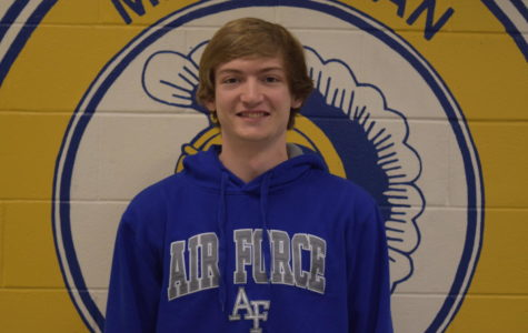 Michael Rowe will attend the Air Force Academy after graduation.