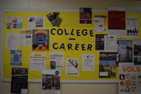 The College and Career Center shares updates about FAFSA and other forms of college aid.
