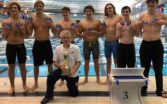 Midlo Men's Swim Emerges as Regional Champs; 200 Free Relay Team Claims State Championship