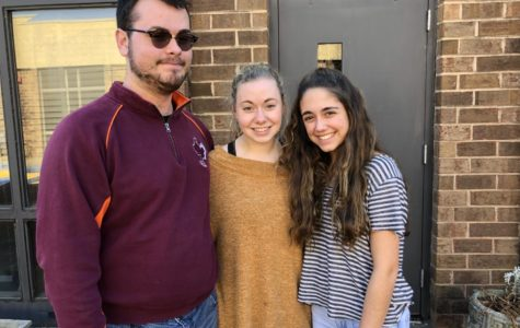 James Pridgen, Brooke Ward, and Sophia Nadder celebrate their esteemed accomplishment of making All-District Chorus.