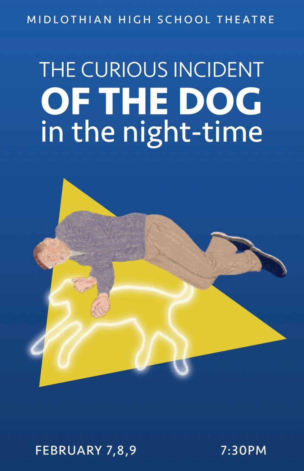 The Curious Incident of the Dog in the Night-time opens on Thursday, February 7, 2019 at Midlothian High School.