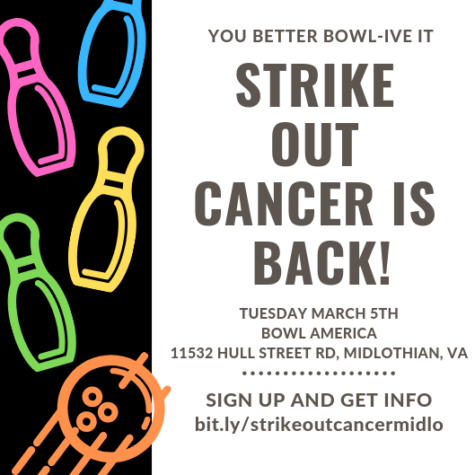 Join the Strike Out Cancer initiative!
