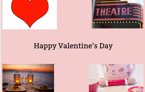 Wishing the students a Happy Valentine's Day.