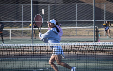 Trojans Tennis Emerge Victorious Over Chiefs