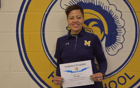 Collins Earns March Employee of the Month