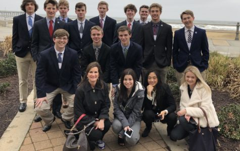 Midlo DECA members compete at the state level competition in Virginia Beach.