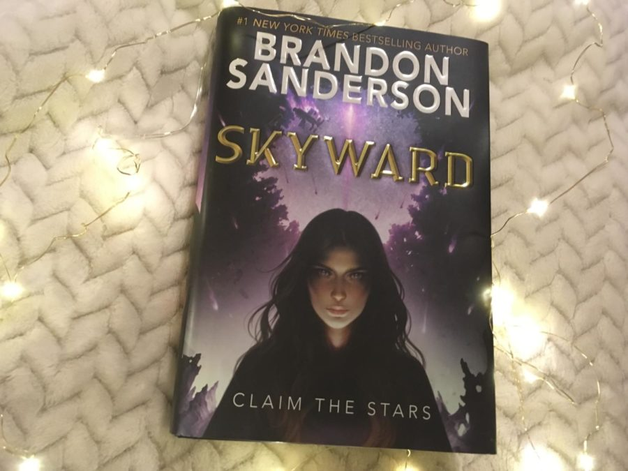 Brandon Sanderson's Skyward fascinates and intrigues young readers.
