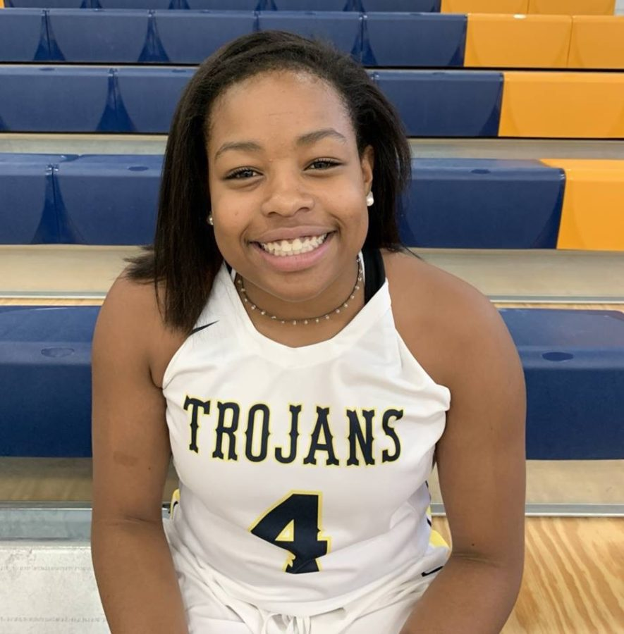 Sophomore Tiffani Bartee earns 1st Team All-Region for her performance in the 2018-2019 basketball season.