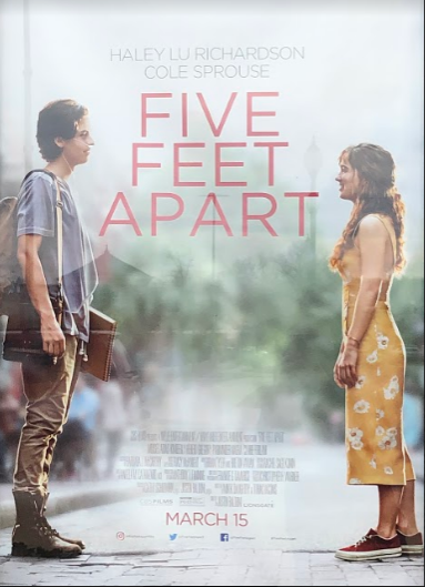 Five Feet Apart came into theaters on March 15, 2019.