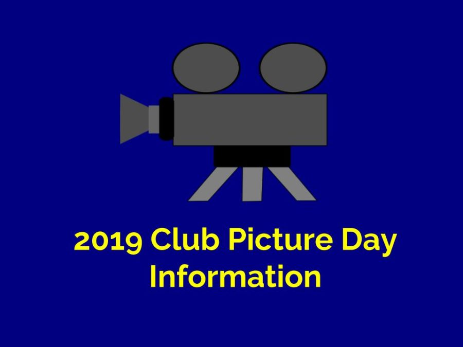 Club+Picture+Day+is+on+March+20th.