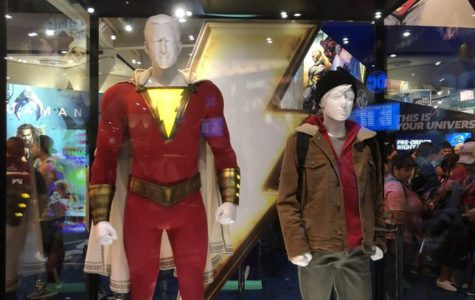 Shazam! costumes naturally draw the attention to all audiences.