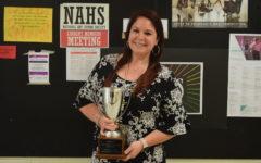 Ms. Nunnally Earns April TRT Award