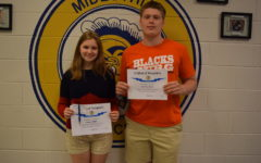 Galligher and Branin Earn @GoMidlo's Student of the Month