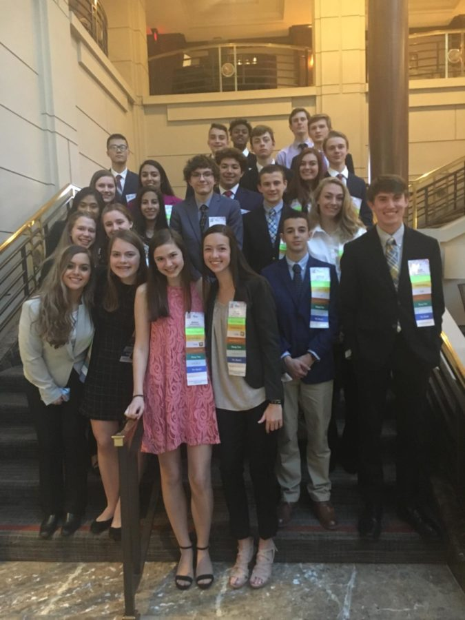 Midlothian High School FBLA students represented well at the FBLA Student Leadership Conference in Reston, Virginia.
