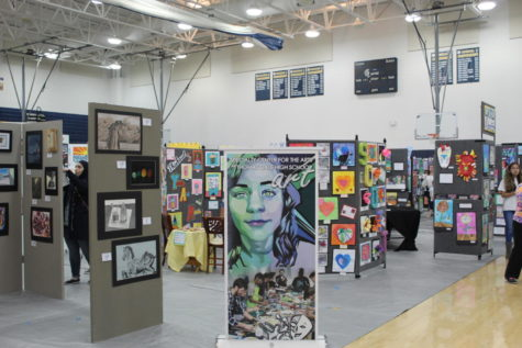 Midlo Hosts CCPS Fine Arts Festival