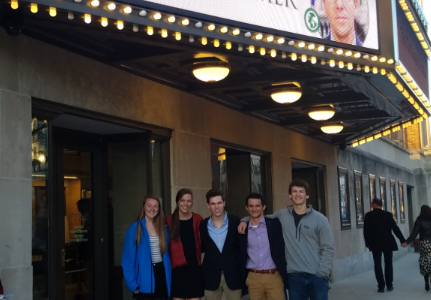 Zoe Hammond, Tori Bullis, Zach Spizer, Spencer Willett, and Joe Hester attend the March Richmond Forum at the Altria Theater.