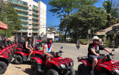 Caleb Smietana and his family take four wheelers for a drive in Costa Rica for Spring Break 2019.