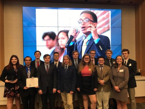Midlo Students Compete in the Governor's Challenge