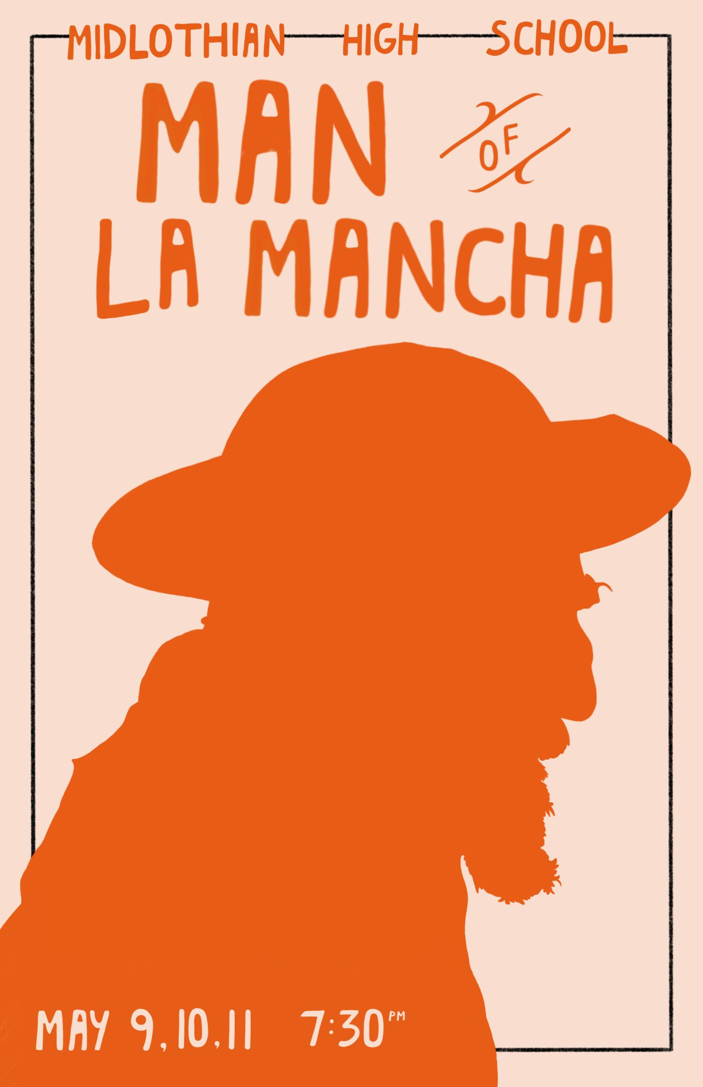 Man of La Mancha comes to the Midlothian Theater on May 9, 2019.