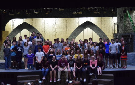 All 95 students who receive nominations for RISE awards celebrate at the ceremony on Friday, May 3, 2019.