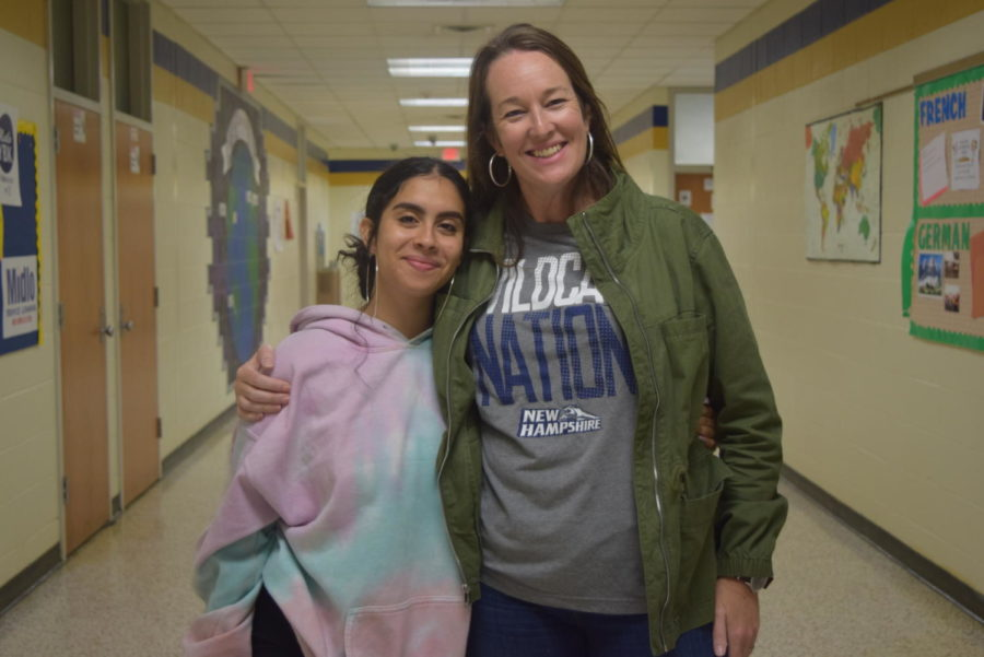 Rachel Rivera chose Mrs. Beth Morris as the teacher who made a lasting impact on her life.
