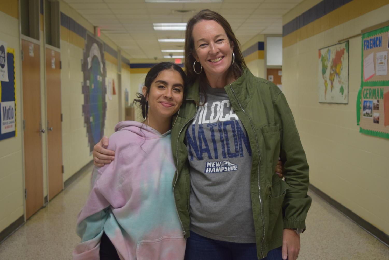 Rachel Rivera chose Mrs. Beth Morris as the teacher who made a lasting impact on her life.