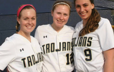 The Softball Class of 2019 includes Maggie McDermott, Abby White, and Lauren Lingle.