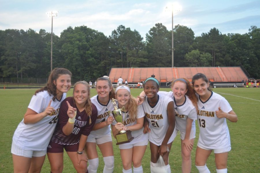 Midlo emerges as champs in their Regional Game against Monacan.
