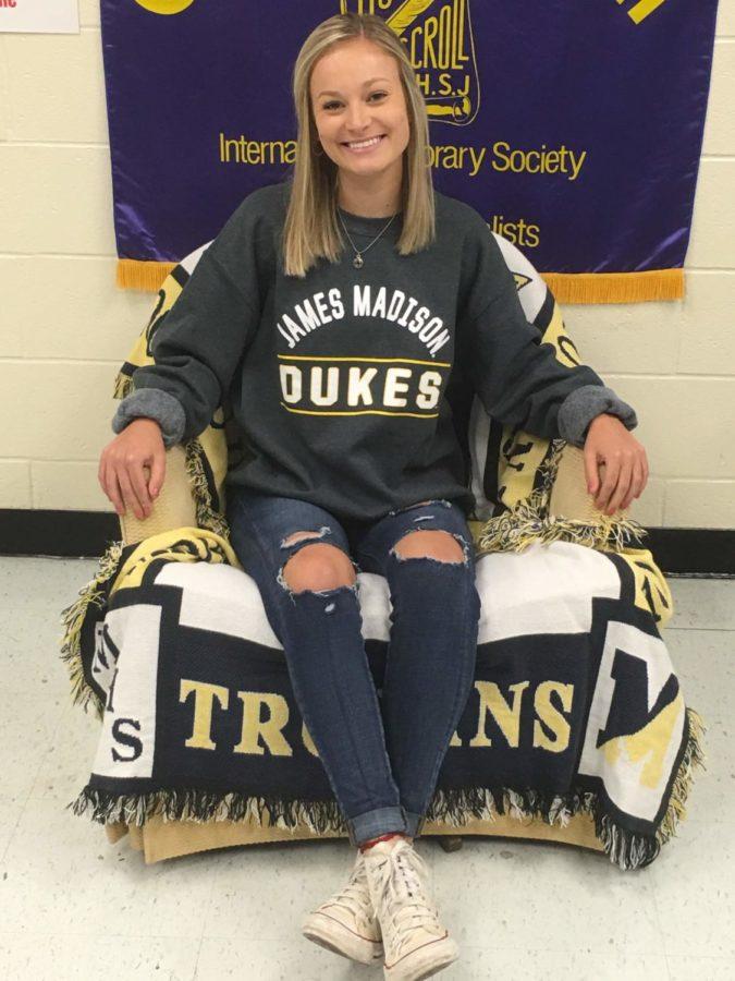 Kristen Botset cannot wait to be a Duke!