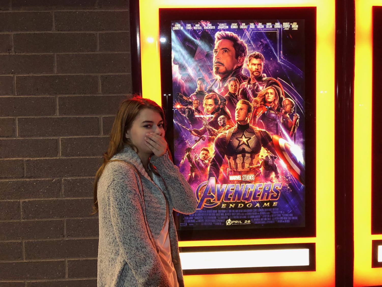 Rachel Bybee is speechless upon seeing Avengers: Endgame.