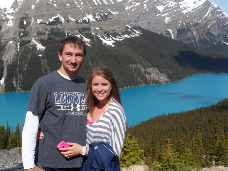 Mr. Nick Davis and his wife visited the Canadian Rocky Mountains in  the Banff and Jasper National Parks in 2014.